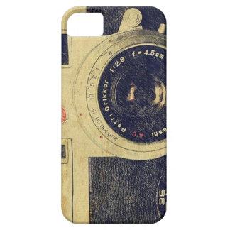 Caso del iphone de la cámara de Petri del vintage iPhone 5 Carcasas