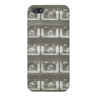 Caso del iphone de la cámara iPhone 5 protectores