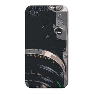 Caso del iphone de la cámara iPhone 4 cárcasas