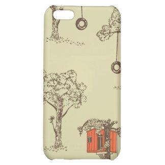 Caso del iPhone de la casa en el árbol