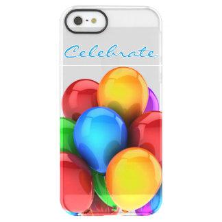 Caso del iPhone de la celebración del globo Funda Permafrost™ Deflector Para iPhone 5 De Uncom