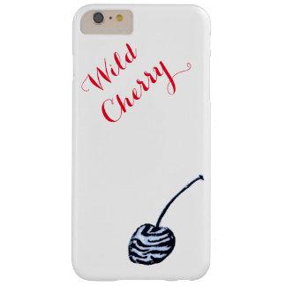 Caso del iphone de la cereza salvaje apenas allí funda para iPhone 6 plus barely there