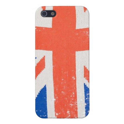 Caso del iPhone de la chispa de Británicos iPhone 5 Fundas