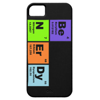 Caso del iPhone de la ciencia de la diversión iPhone 5 Case-Mate Carcasa