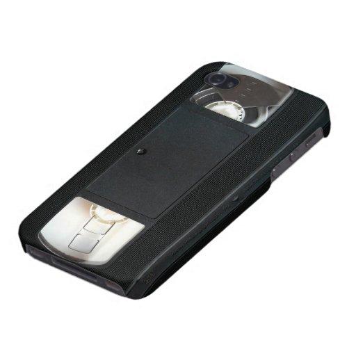 Caso del iPhone de la cinta de VHS iPhone 4 Carcasa