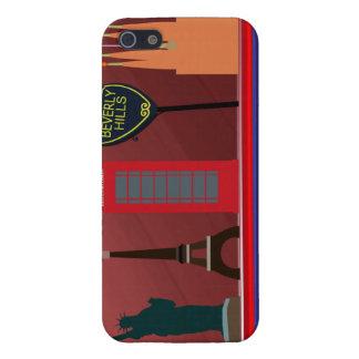 caso del iPhone de la ciudad de 5 modas iPhone 5 Protector