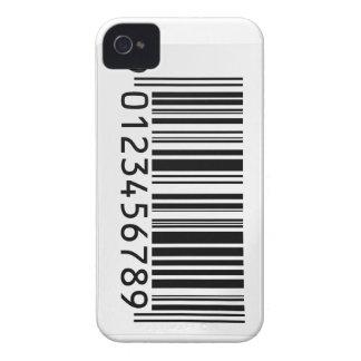 Caso del iphone de la clave de barras iPhone 4 cobertura
