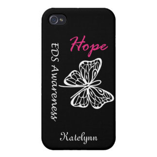 Caso del iPhone de la conciencia de la esperanza d iPhone 4/4S Carcasa