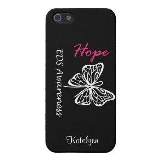 Caso del iPhone de la conciencia de la esperanza d iPhone 5 Carcasas