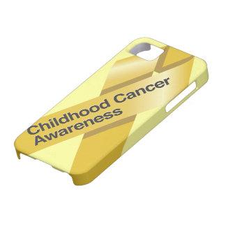 Caso del iphone de la conciencia del cáncer de la funda para iPhone SE/5/5s