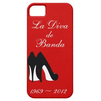 Caso del iphone de La Diva de Banda iPhone 5 Carcasa