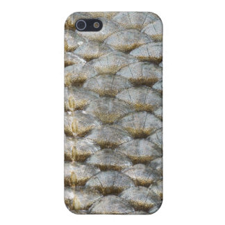 Caso del iPhone de la escala de pescados iPhone 5 Carcasas
