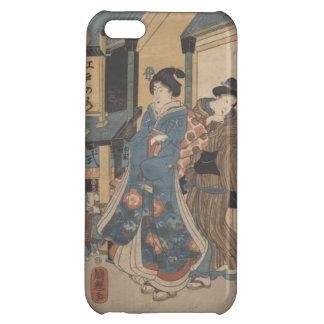 Caso del iPhone de la escena de la calle de Tokio