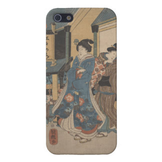 Caso del iPhone de la escena de la calle de Tokio iPhone 5 Carcasas