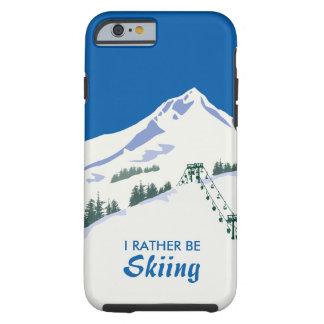 Caso del iPhone de la escena del invierno del Funda Para iPhone 6 Tough