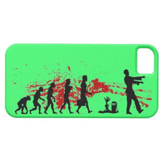 caso del iphone de la evolución del zombi funda para iPhone SE/5/5s