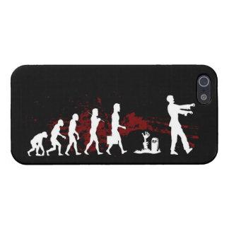 caso del iphone de la evolución del zombi iPhone 5 funda