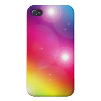 Caso del iPhone de la explosión de la estrella del iPhone 4/4S Funda