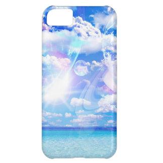 Caso del iPhone de la fantasía de la playa
