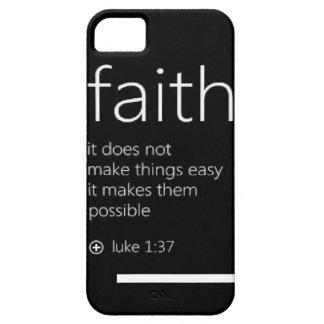 Caso del iPhone de la fe iPhone 5 Case-Mate Cobertura