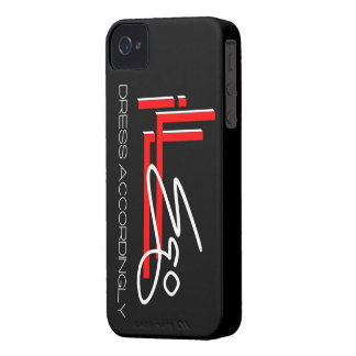 caso del iPhone de la firma del IE iPhone 4 Case-Mate Funda