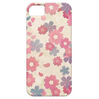 Caso del iphone de la flor de cerezo funda para iPhone SE/5/5s