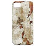 Caso del iPhone de la flor de la magnolia del vint iPhone 5 Case-Mate Protectores