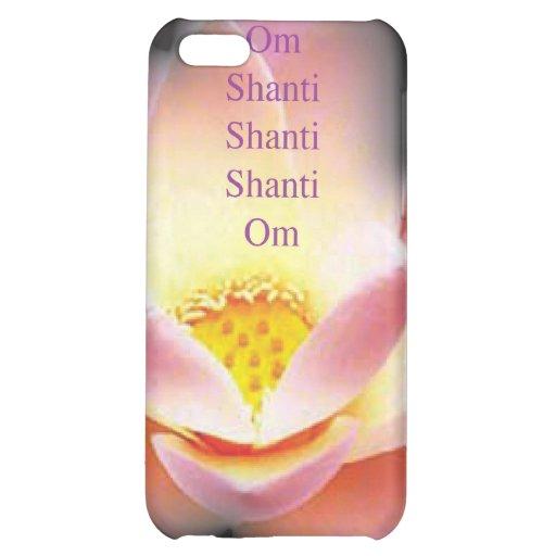 Caso del iPhone de la flor de Lotus