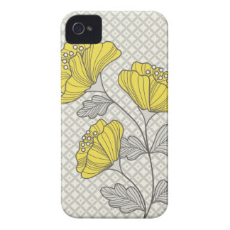 Caso del iPhone de la flor iPhone 4 Case-Mate Protectores