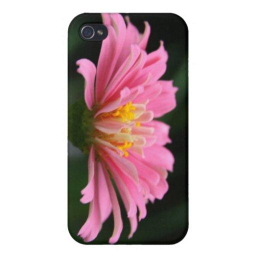 Caso del iPhone de la flor iPhone 4 Carcasas