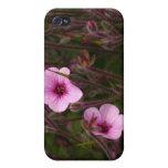 Caso del iPhone de la flor iPhone 4 Protectores