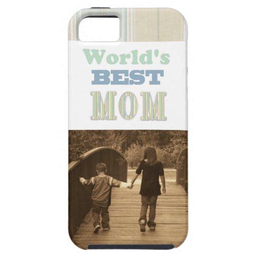 Caso del iPhone de la foto de la mamá iPhone 5 Case-Mate Carcasas