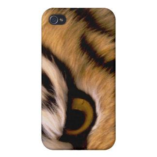 Caso del iPhone de la foto del tigre iPhone 4 Protector