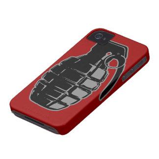 Caso del iPhone de la granada de mano Case-Mate iPhone 4 Fundas