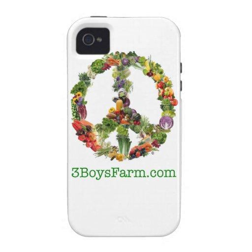Caso del iPhone de la granja de 3 muchachos Vibe iPhone 4 Carcasa
