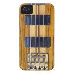 Caso del iPhone de la guitarra baja Case-Mate iPhone 4 Funda