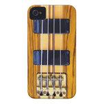 Caso del iPhone de la guitarra baja iPhone 4 Case-Mate Coberturas