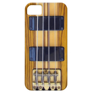 Caso del iPhone de la guitarra baja Funda Para iPhone 5 Barely There