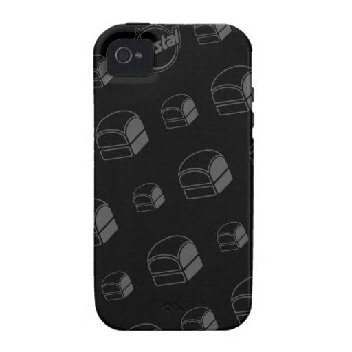 Caso del iPhone de la hamburguesa de Krystal iPhone 4/4S Fundas