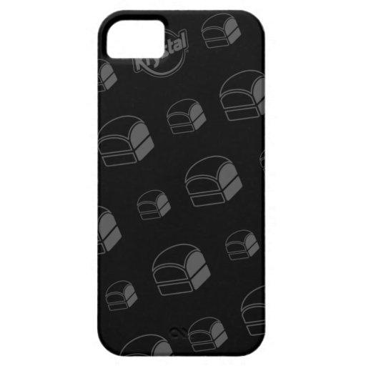Caso del iPhone de la hamburguesa de Krystal iPhone 5 Cárcasa