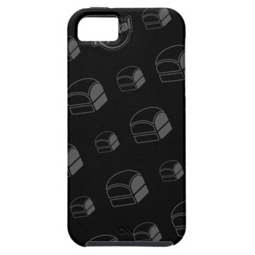 Caso del iPhone de la hamburguesa de Krystal iPhone 5 Case-Mate Funda