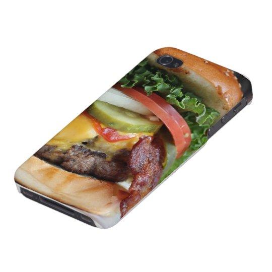 """Caso del iPhone de la """"hamburguesa"""" iPhone 4/4S Carcasa"""