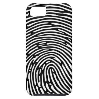 Caso del iPhone de la huella dactilar Funda Para iPhone SE/5/5s