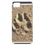 Caso del iPhone de la impresión de la pata del per iPhone 5 Case-Mate Cárcasa