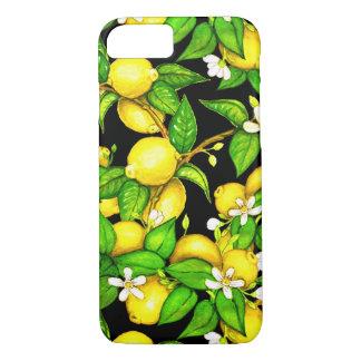 Caso del iPhone de la impresión del limón de la Funda iPhone 7