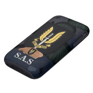 Caso del iphone de la insignia del servicio aéreo funda though para iPhone 3