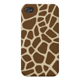 Caso del iPhone de la jirafa iPhone 4 Funda