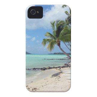Caso del iPhone de la laguna de Bora Bora Funda Para iPhone 4 De Case-Mate