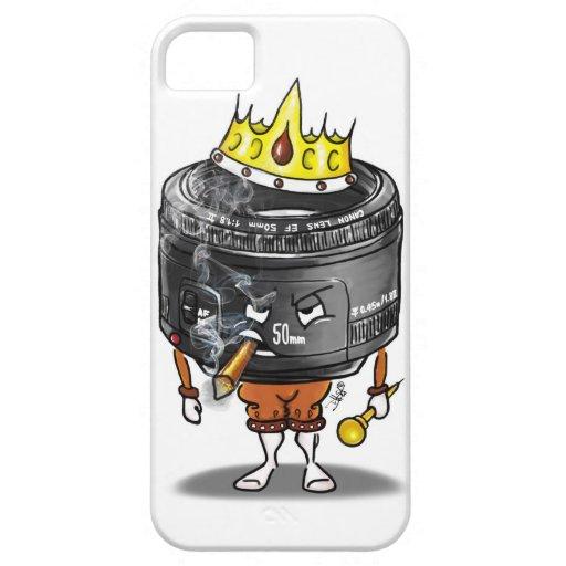 caso del iphone de la lente del milímetro 1,8 del iPhone 5 carcasa