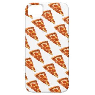 Caso del iPhone de la lluvia de la pizza iPhone 5 Fundas